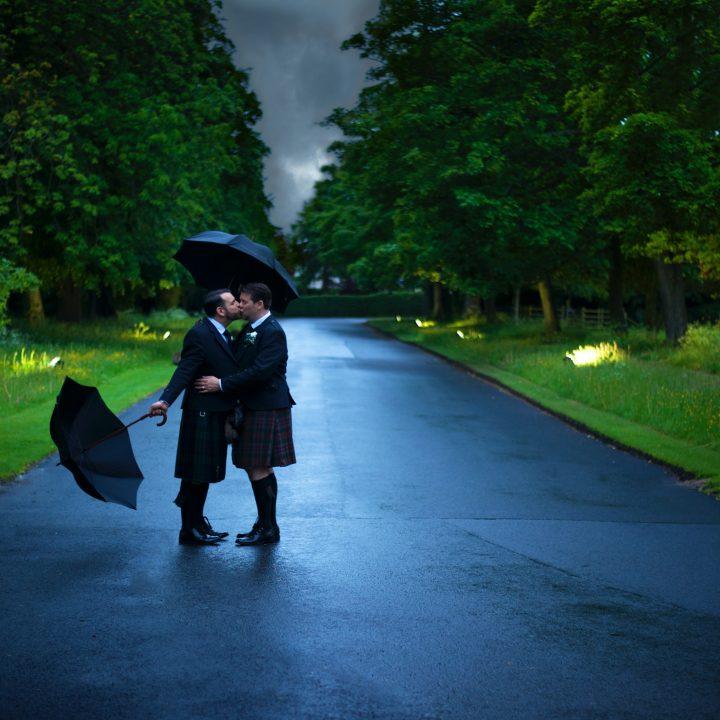 Edinburg, Scotland - David & John-Paul's wedding