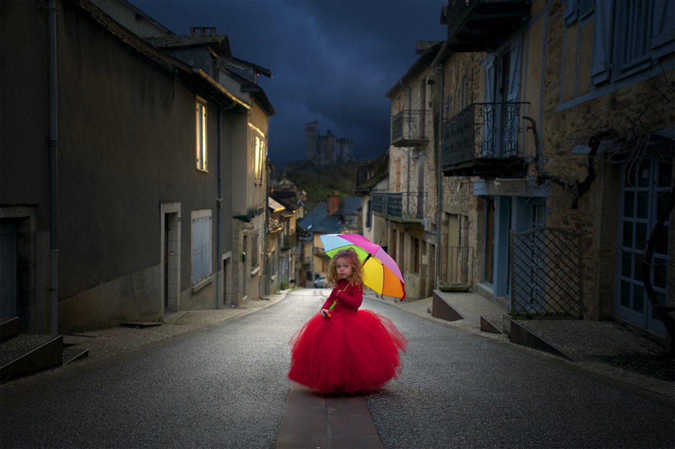 La princesse de Najac, Sandrine Bonvoisin, photographe de mariage.