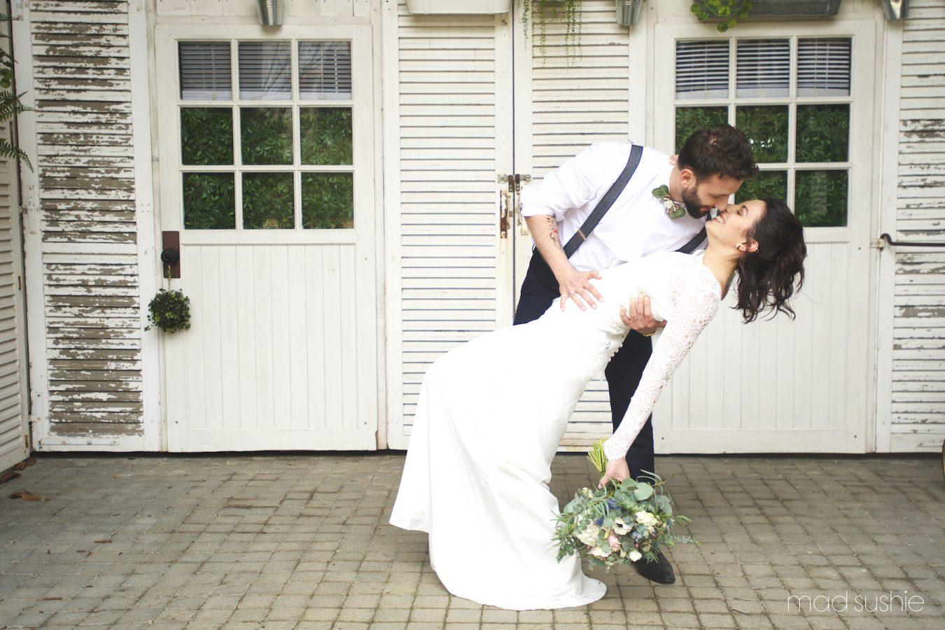 Photographe mariage Concarneau - Finistère. Sandrine Bonvoisin. Mariage de Rose & Baptiste - Shooting d'inspiration mariage rock-mantique