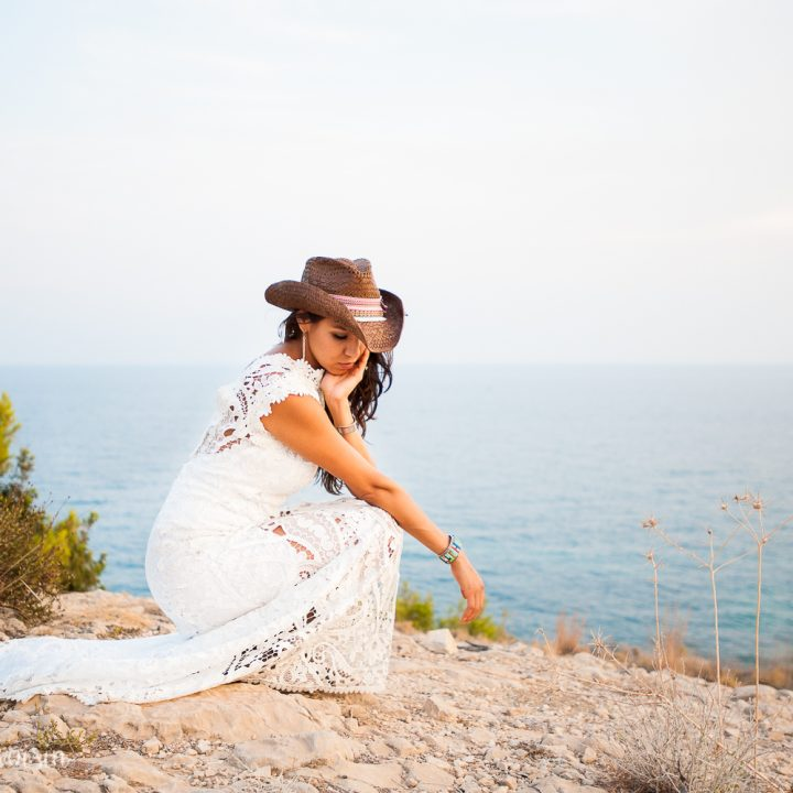 Alicante, Espagne - The free-spirited bride